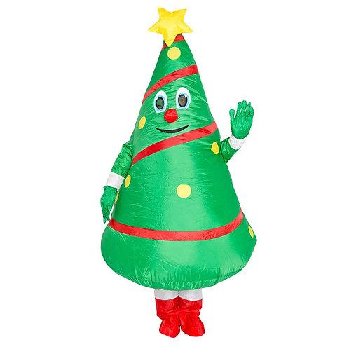 Adult Inflatable Christmas Tree Costume