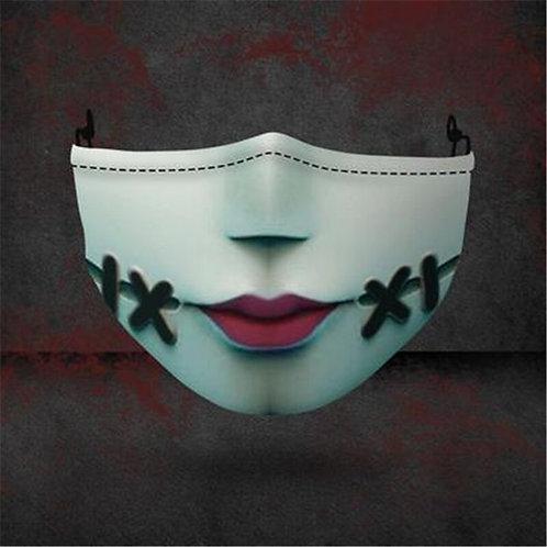 """Nightmare Before Christmas"" Sally Novelty Cloth Mask"