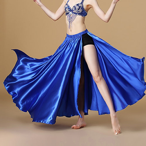 Performance Satin Belly Dance Skirt