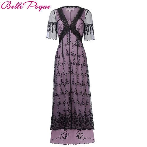 Retro Long Dress