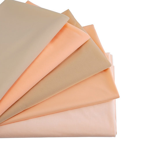Flesh Color Skin Fabric Soft Short Plush