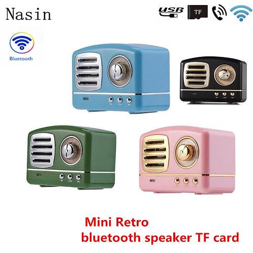 Retro Bluetooth Speaker Vintage Nostalgic