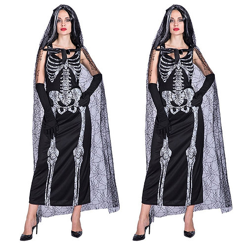 Adult Skull Bride Dress