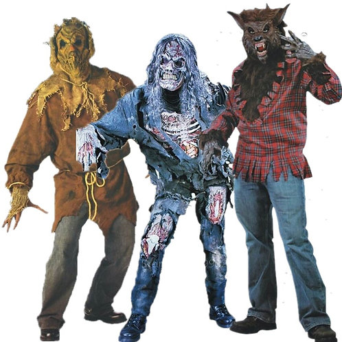 Classic Scary Halloween Cosplay Costumes