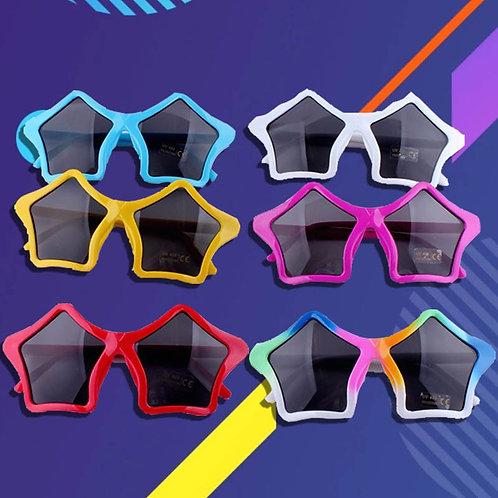 Novelty Star Shape Frame Sunglasses