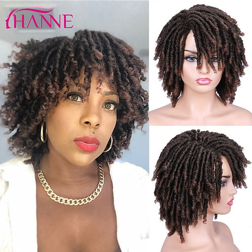 HANNE Short Twisted Synthetic Wig