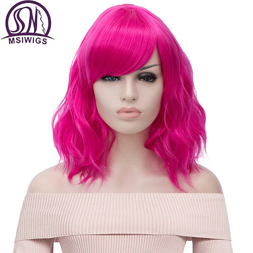 MSIWIGS Short Cosplay Natural Wave Wig