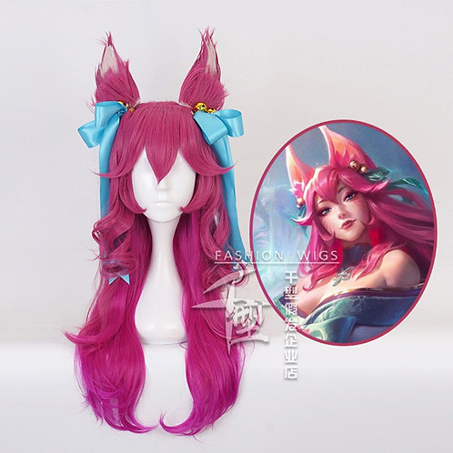 """League Of Legends"" Spirit Blossom Ahri Cosplay Wig"