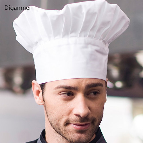 Classic Style Adjustable Chef Hat