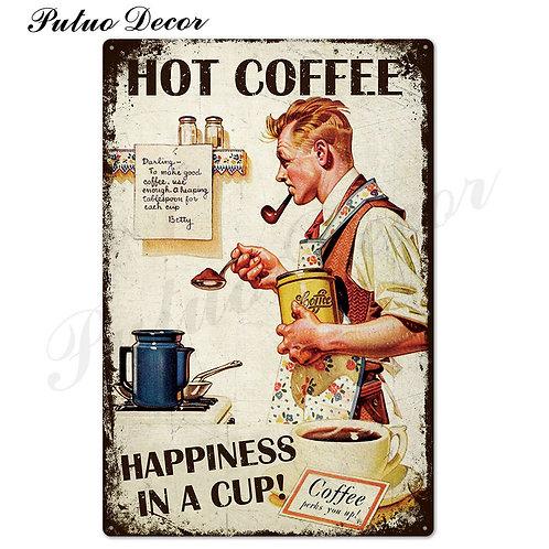 Coffee Tin Sign