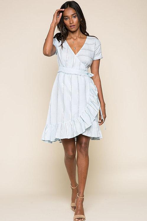 Skyla Short Wrap Dress