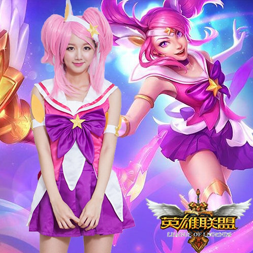 """""""League Of Legends"""" Star Guardian Luminosity Lux Cosplay Costume"""
