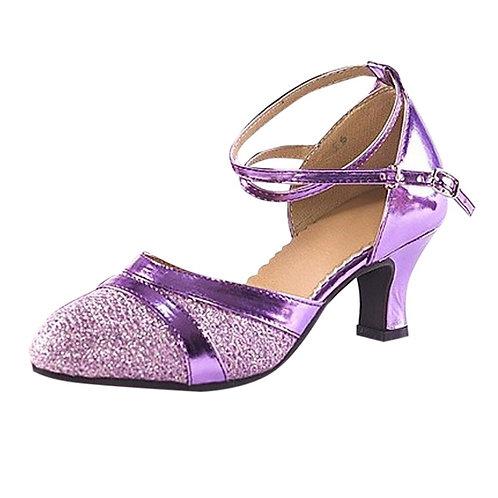JAYCOSIN Sequins Costume Dance Shoes