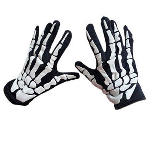 Full Finger Skeleton Gloves