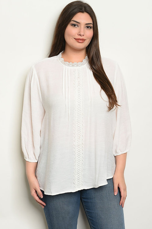 Peasant Villager Top - Sizes M, N, O