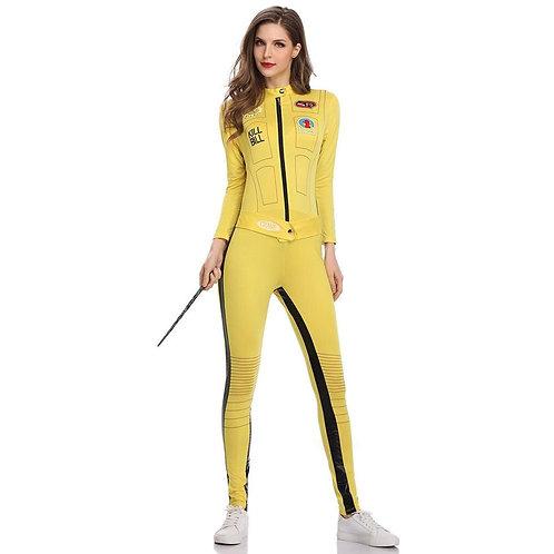 """""""Kill Bill"""" Beatrix Kiddo Cosplay Jumpsuit"""