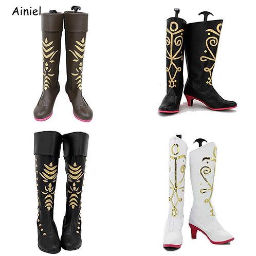 Tall Snow Queen Boots
