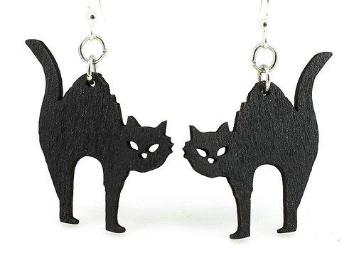 Halloween Cat Earrings # 1247