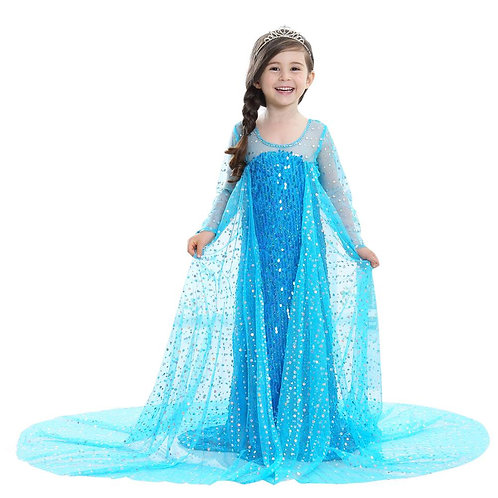 """Frozen"" Elsa Deluxe Youth Cosplay Costume"
