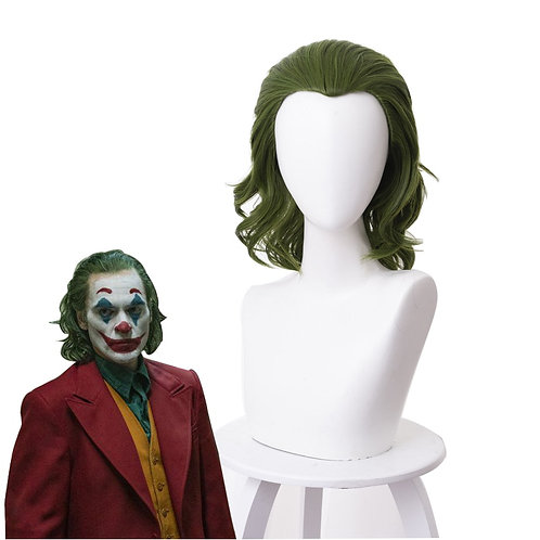 """Joker"" Movie Adult Green Cosplay Costume Wig"