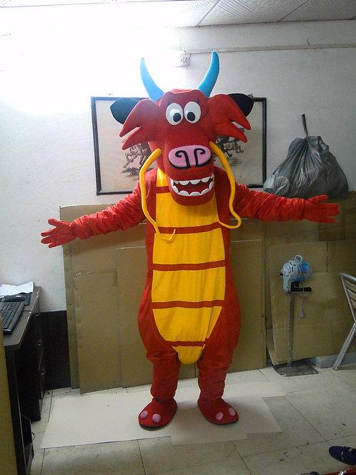 """Mulan"" Mushu Dragon Mascot Costume"