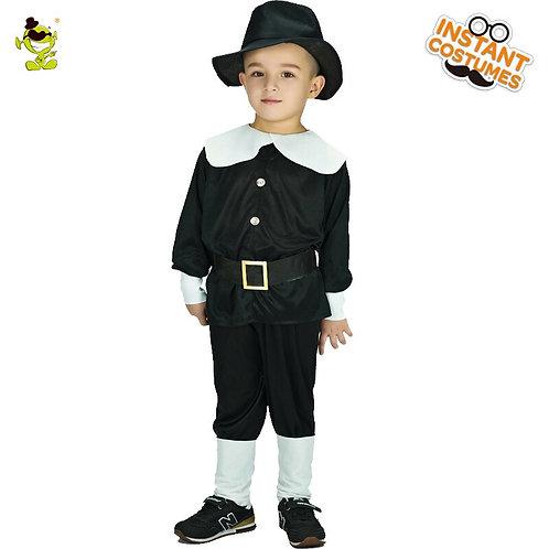 Youth Pilgrim Pants Costume Set