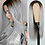 Thumbnail: FEELSI Long Straight Wig With Bangs