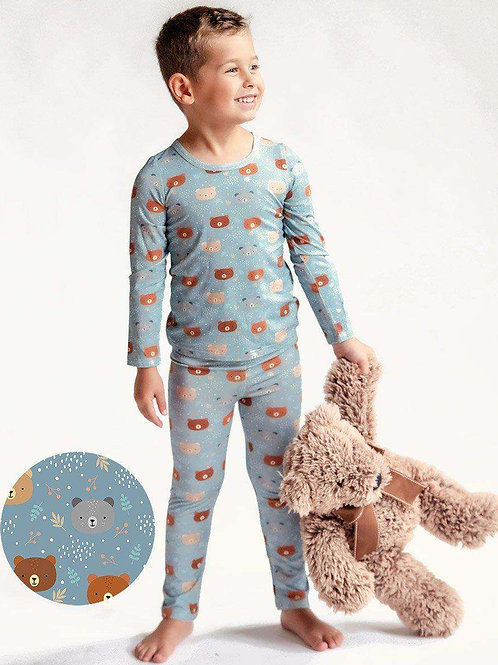 Blue Bear Kids Bamboo Long Sleeve Lounge Set