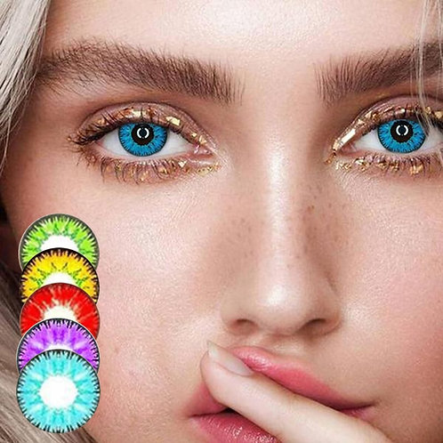 2pcs Cosmetic Color Contact Lenses