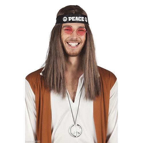 Adult Hippie Accessory Set