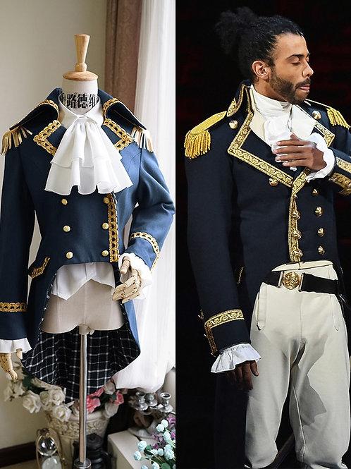"""Hamilton"" Lafayette Cosplay Costume"