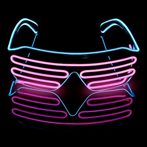 Novelty LED Light Up Glasses