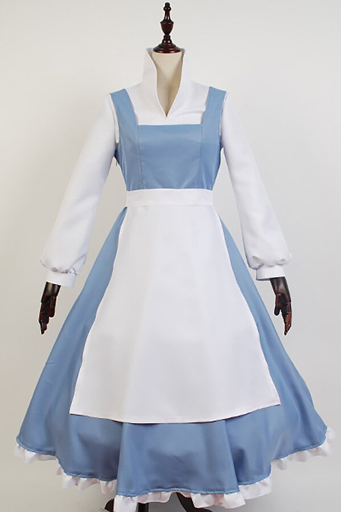"""Beauty and the Beast"" Belle Deluxe Cosplay Costume"