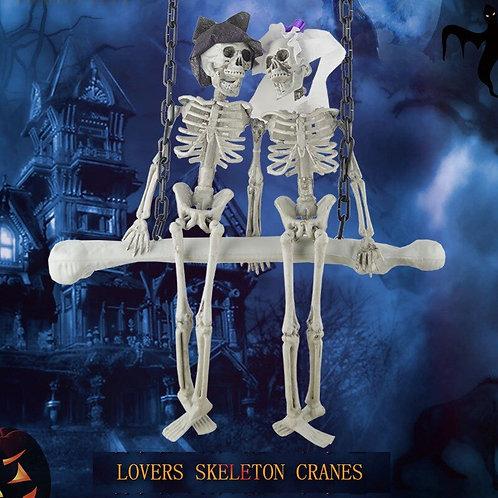 Couple Skeleton Hanging Decoration