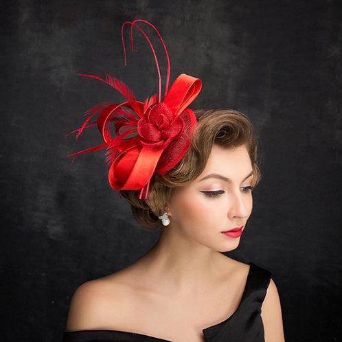 Novella Clip On Dramatic Fascinator Hat
