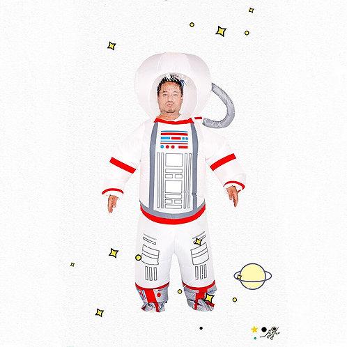 Inflatable American Astronaut Costume
