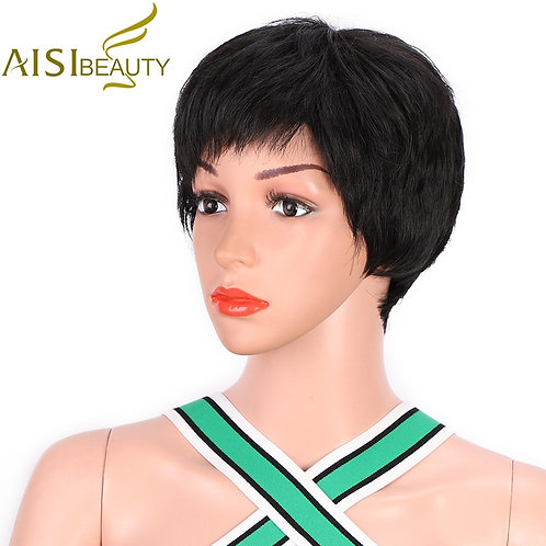 AISI BEAUTY Pixie Cut Wig