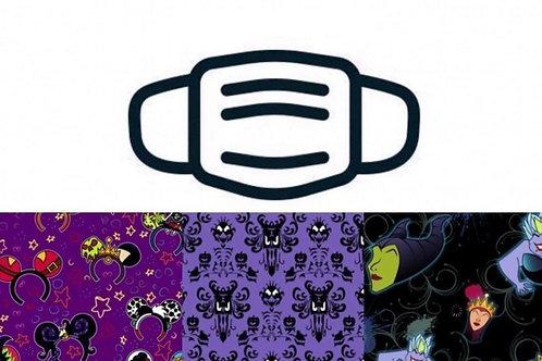 Haunts & Villains - Washable Face Masks 3/Pack