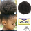 Thumbnail: 10inch High Puff Afro Wig