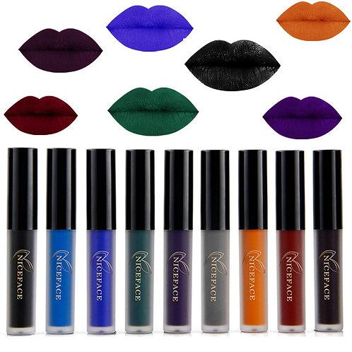 Dark Colors Waterproof Long Lasting Matte Lipcolor