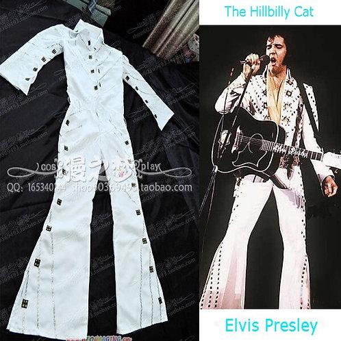 Elvis Presley Cosplay Costume Jumpsuit