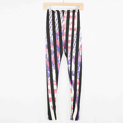 Vibrant Striped Leggings