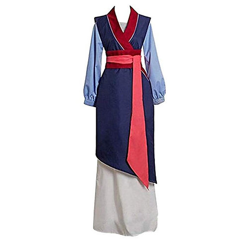 """Mulan"" Adult Deluxe Cosplay Costume"