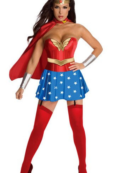 Adult Wonder Woman Costume Dress