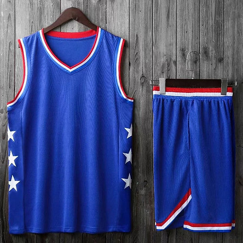 Youth & Adult Retro Basketball Jersey Set