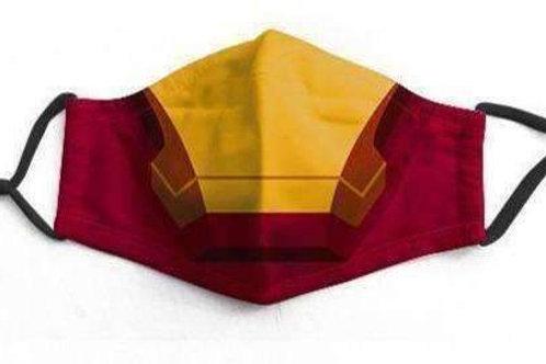 Iron Man Character Face-Mask
