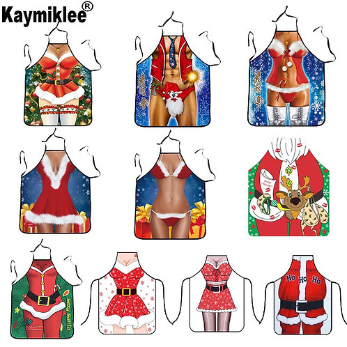 Novelty Christmas Funny Kitchen Aprons