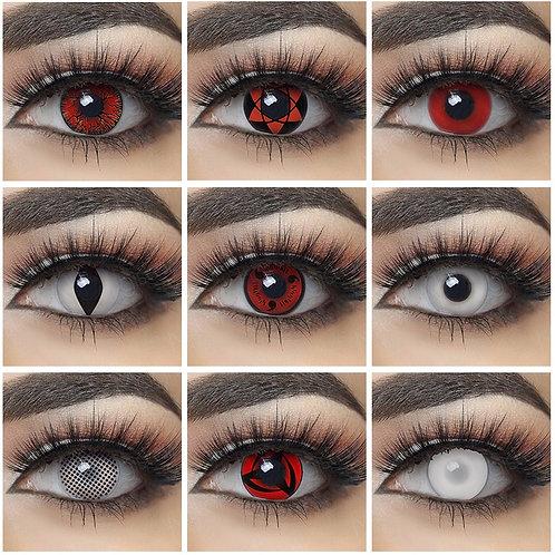 1Pair NARUTO Contact Lens