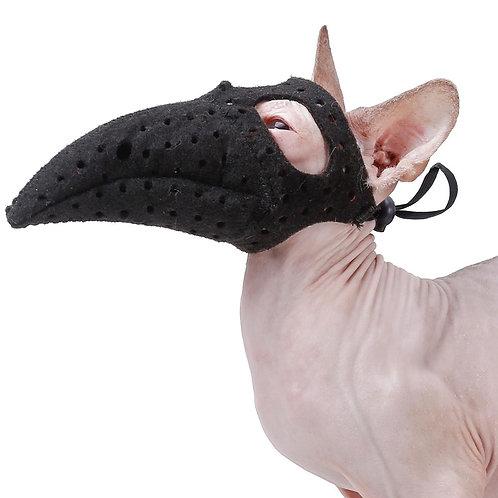 Plague Mask Adjustable Pet Costume