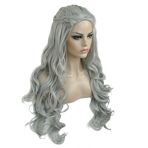 "32"" Pre-Styled ""Game of Thrones"" Daenerys Targaryen Cosplay Costume Wig"